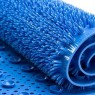 Easy Care Non Slip Comfort Bath Mat - Blue