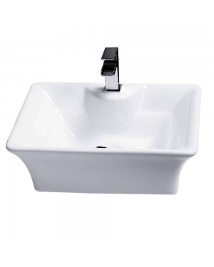 Basin Sink Bowl Counter Top Bathroom Ceramic Art Cloakroom Luxury Free Standing