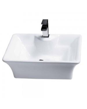 Basin Sink Bowl Counter Top Bathroom Ceramic Art Cloakroom Luxury Free Standing