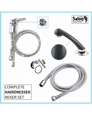 Hair Salon/Barber Tap & Black Sprayer Complete Set