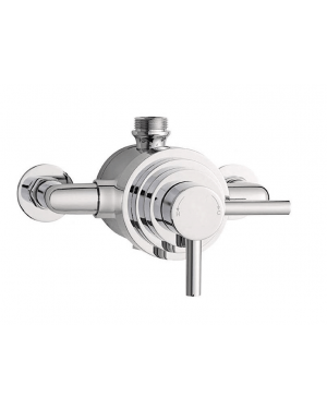 Dual Exposed Shower Valve Thermostatic