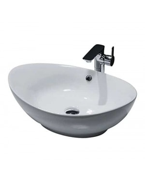 Oval Countertop Sink - 600 x 370mm