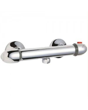 Thermostatic Bar Mixer Shower Exposed Valve Brass Thermo Bathroom JTY318