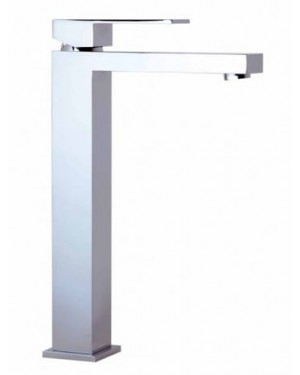 Tall High Rise Tap Chrome & FREE SQUARE WASTE