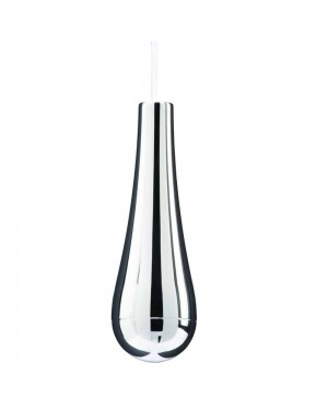 Croydex Teardrop Light Cord Pull Bathroom Kitchen (Includes 1 Metre White Cord)