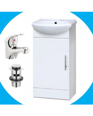 Sienna Vanity Unit With Basin Tap & Waste