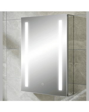 Comrie LED Bathroom Mirror Cabinet with Shaver Socket