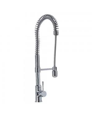 Reginox - Aquada Chrome Pull Out Kitchen Sink Mixer Tap Single Lever