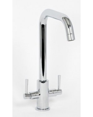 Alliance 13231 Don Luxury Cruciform Kitchen Sink Mixer Tap - Chrome