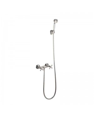 Kent Traditional Shower Mixer Tap & Handset Kit