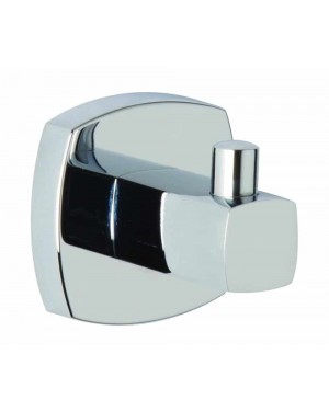 Modern Croydex Medway Flexi Fit Towel/Robe Hook Chrome