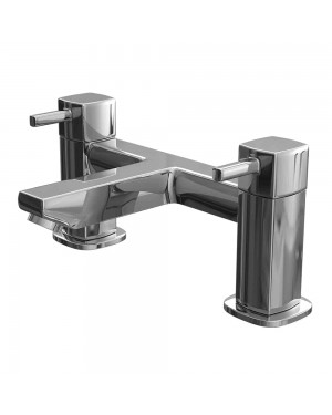 Nero Bath Filler Mixer Tap Chrome
