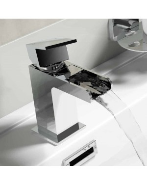 Belle Waterfall Mono Basin Mixer Tap