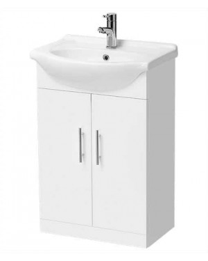450mm Double Door Vanity Unit Floor Standing