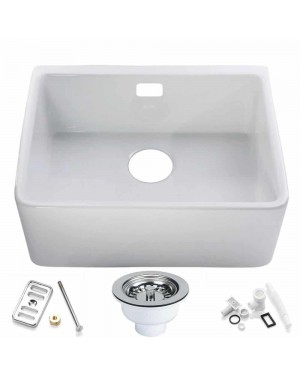 RAK Belfast Kitchen Sink & Waste Overflow Kit