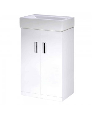 Checkers 450mm Vanity Unit - Floorstanding