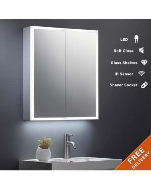 600x700mm Surround LED Mirror Cabinet