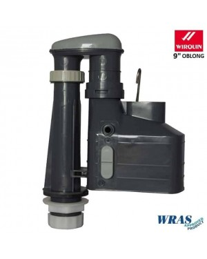Wirquin Metro 3 Part Syphon oblong bell 9""