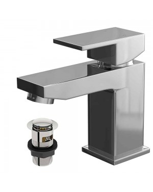 Form Mono Basin Mixer Tap Chrome