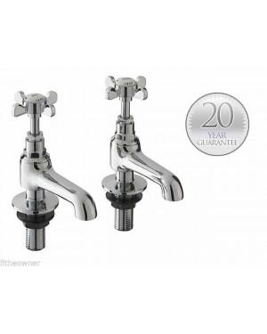 Traditional Basin Sink Bathroom Chrome Taps Westminster Edwardian Victorian