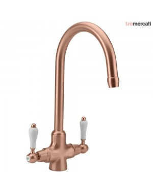 Tre Mercati Little Venice Kitchen Sink Tap Old Copper