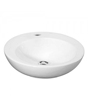 Premier NBV131 460 mm 1TH Round Vessel - White