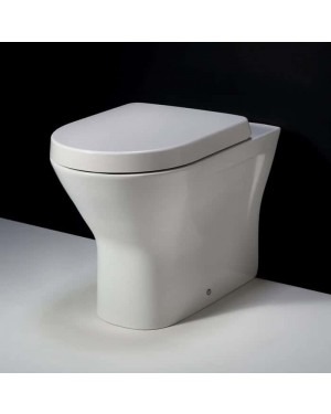 RAK Resort Back to Wall Rimless Toilet Pan 445 mm Comfort Height Soft Close Seat
