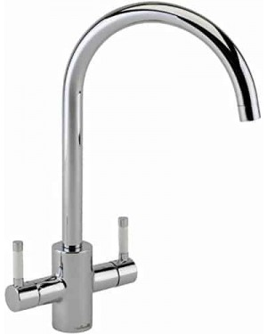 Reginox Genesis White Ceramic Handle Kitchen Tap 2kg