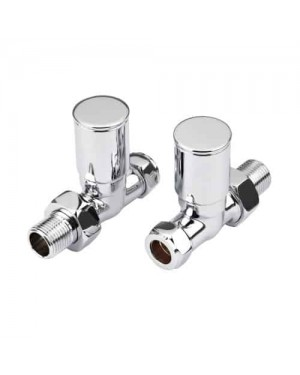 Chrome Radiator Valves Straight - Chrome Towel Rail Radiator Valves