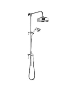 Traditional Rigid Riser Overhead Shower Kit