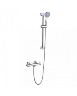 Moss & Britten Torre Thermostatic Exposed Shower Valve & Shower Kit Chrome