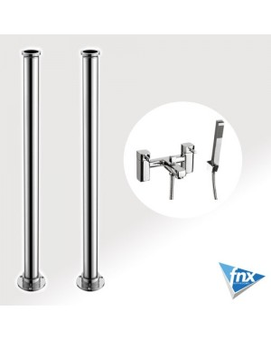 Square Freestanding bathroom Tap Bath Shower Mixer