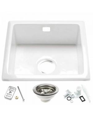 RAK Inset Kitchen Sink & Waste Overflow Kit