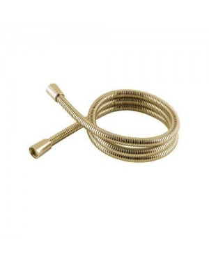 Gold Metal Shower Hose Universal 1.5m *Replaces Mira Grohe Triton and more*