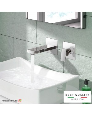 Adona Wall Mounted Basin Mixer Tap