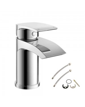 Sleek Mono Basin Mixer Tap Without Waste