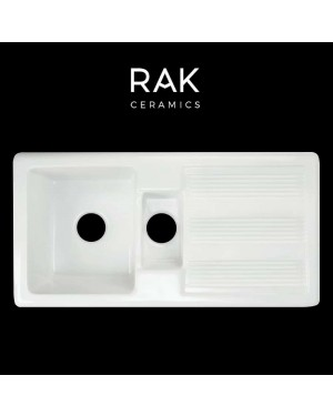 RAK 1.5 Bowl Ceramic Kitchen Sink