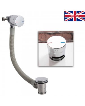 Single Lever Freeflow Chrome Bath Filler Bathroom Fitting for Baths