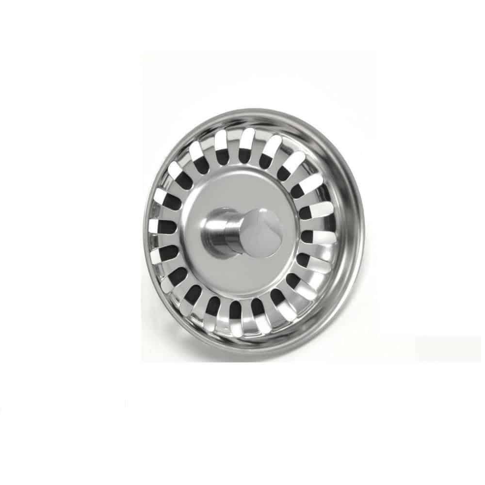 RAK Mini Basket Strainer Waste 60mm Stainless Steel Stemball Plug