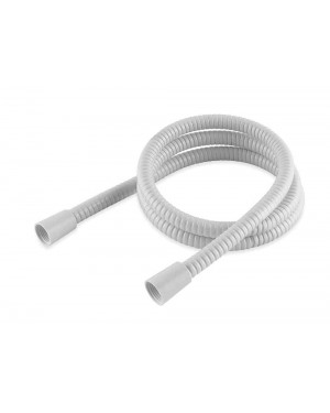 White PVC Coated Shower Hose 1.5mtr
