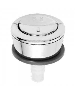 Genuine Wirquin Dual Flush Replacement Chrome Push Button Jollyflush Easy Clean