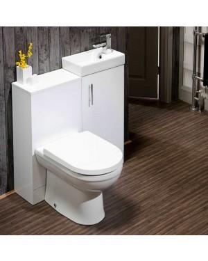900mm Bathroom Vanity Set Vanity Storage cupboard with BTW unit & Pan