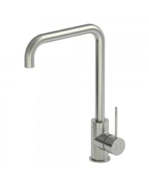 Reginox - Angel Brushed Nickel Mono Kitchen Sink Mixer Tap Single Lever