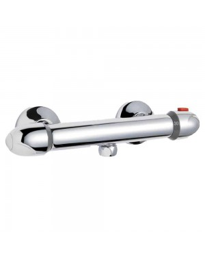 Luxury Thermostatic Bar Valve Bottom Outlet - Chrome