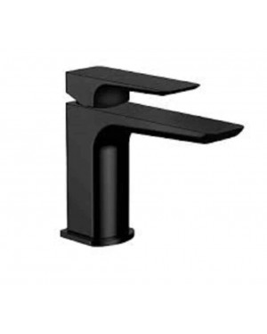Luxury Bathroom Basin Mixer Tap Matt Black Incl Flexi Fittings