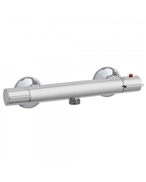 Modern Thermostatic Slim Bottom Entry Outlet Shower Bar Valve