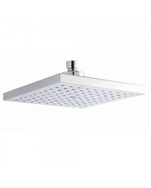Modern Shower/Bathroom Fixed Square Shower Head Chrome 200mm