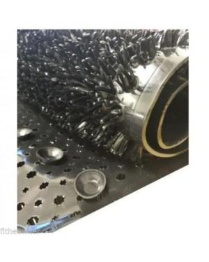NEW SPIKEY COMFORT DESIGNER SLIP RESISTANT  BATH MAT  - BLACK