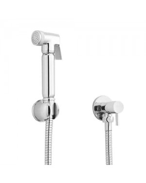 Douche Spray Bidet Toilet Kit Shower Muslim Shattaf Bathroom Valve Set Chrome BW