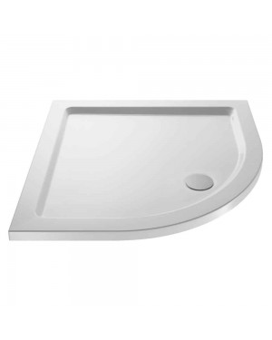 Pearlstone White Quadrant Shower Tray 900 X 900 X 40 NTP106